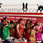 nepali girls in green and red saree, nepali sex girls