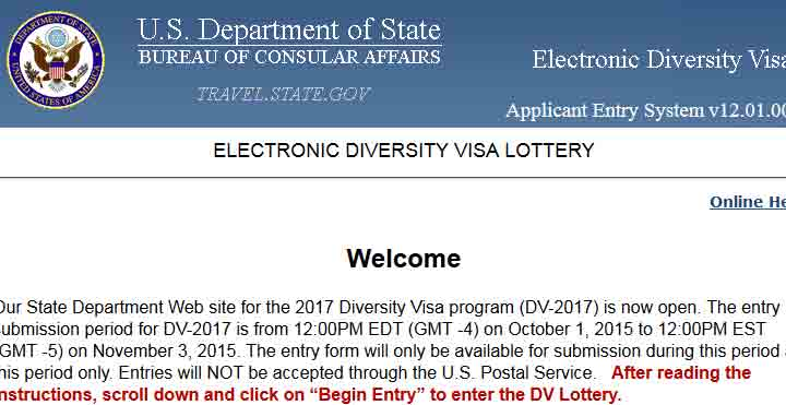 edv, Green card lottery