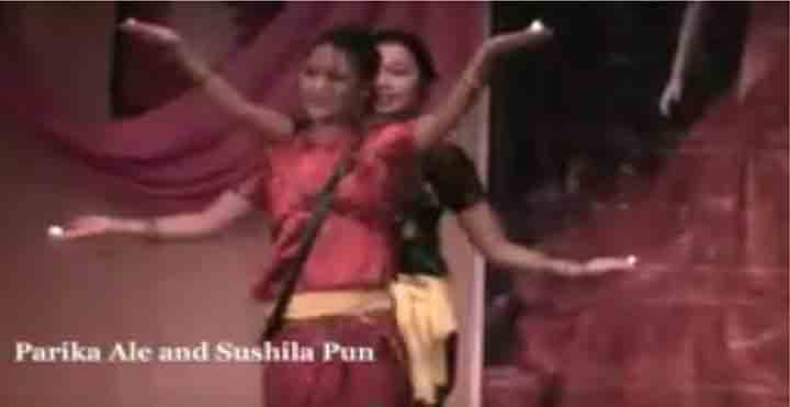 tiharai aayo, beautiful nepali girls dancing, sushila pun, parika ale, tihar song, beautiful dance