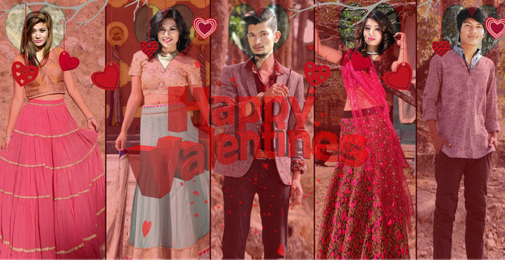 Valentine in Nepal, valentine day